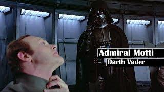 STAR WARS: Warum ADMIRAL MOTTI so respektlos gegenüber DARTH VADER war!