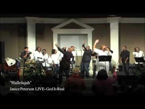 Hallelujah LIVE- Janice Peterson
