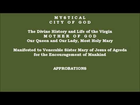 Approbations - Mystical City of God: Divine History & Life of Mary, Mother of God