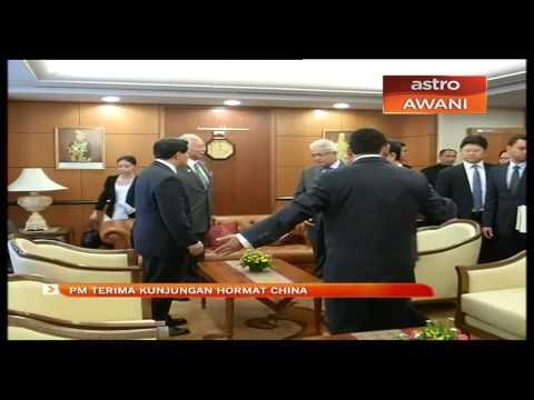 PM terima kunjungan hormat China