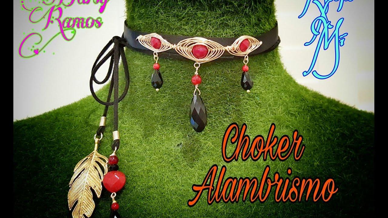 003723482fbe Choker Alambrismo