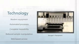 DNA Sequencing and Genetic Diagnostic - Secugen
