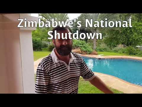 Zimbabwe's national shutdowns- day 1