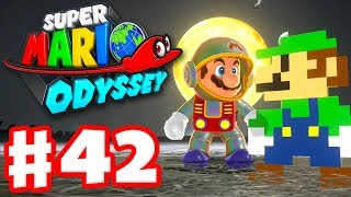 Super Mario Odyssey - Gameplay Walkthrough Part 42 - New Outfits! New Hint Art! (Nintendo Switch)