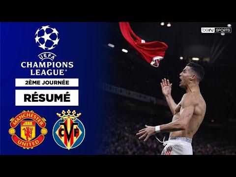 Résumé - Champions League : Ronaldo, héros de Manchester United contre Villarreal