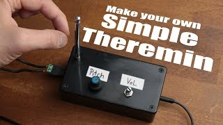 Video Make your own Simple Theremin download MP3, 3GP, MP4, WEBM, AVI, FLV Juli 2018