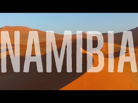 EPIC Drone Footage from our Road Trip in Namibia