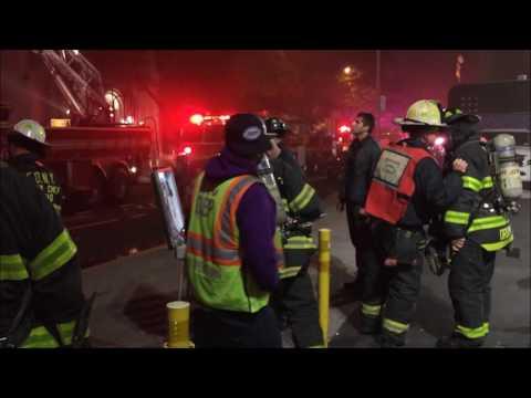 ( READ FULL DESCRIPTION BELOW. )  -  FDNY BATTLING A DIFFICULT 6TH ALARM FIRE ON WEST 29TH STREET.