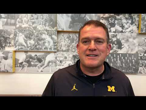 Why Ed Warinner is pleased with the OL's progress