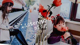 XING BU LAI DE MENG BY HUI XIAO XIAN ~ BEAUTIFUL CHINESE GIRL & MOM SING CHINESE SONG   NBB