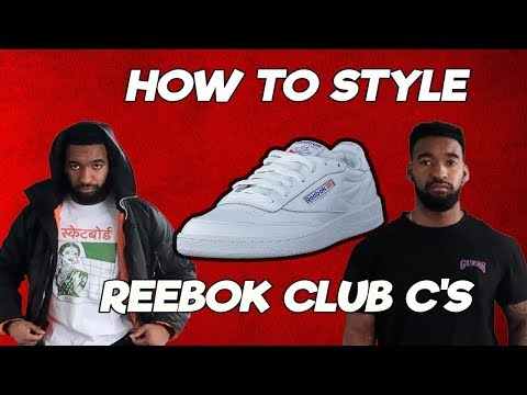 How To Style Reebok Club Cs (Thotiana Approved Winter Outfits)
