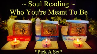 🔮Who You Are Meant To Be ✨Soul Reading ~ Pick A Set