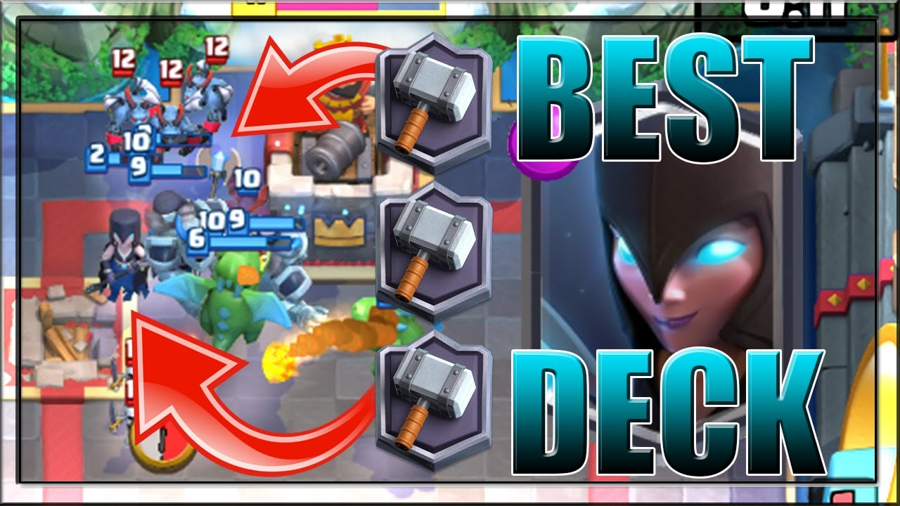 Best Night Witch Deck In Clash Royale New Legendary Card