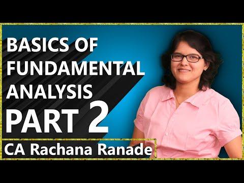 Profit & Loss, Balance Sheet | Basics Of Fundamental Analysis Lecture 1 P2 By Rachana Phadke Ranade