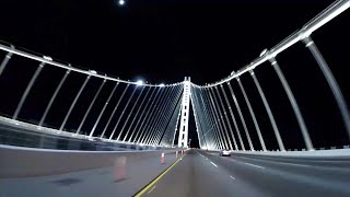 Crossing San Francisco - Oakland Bay Bridge (gopro Dubstep Style)