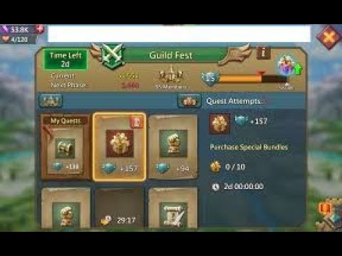 Lords Mobile-Guild Fest Quests(magyarul)