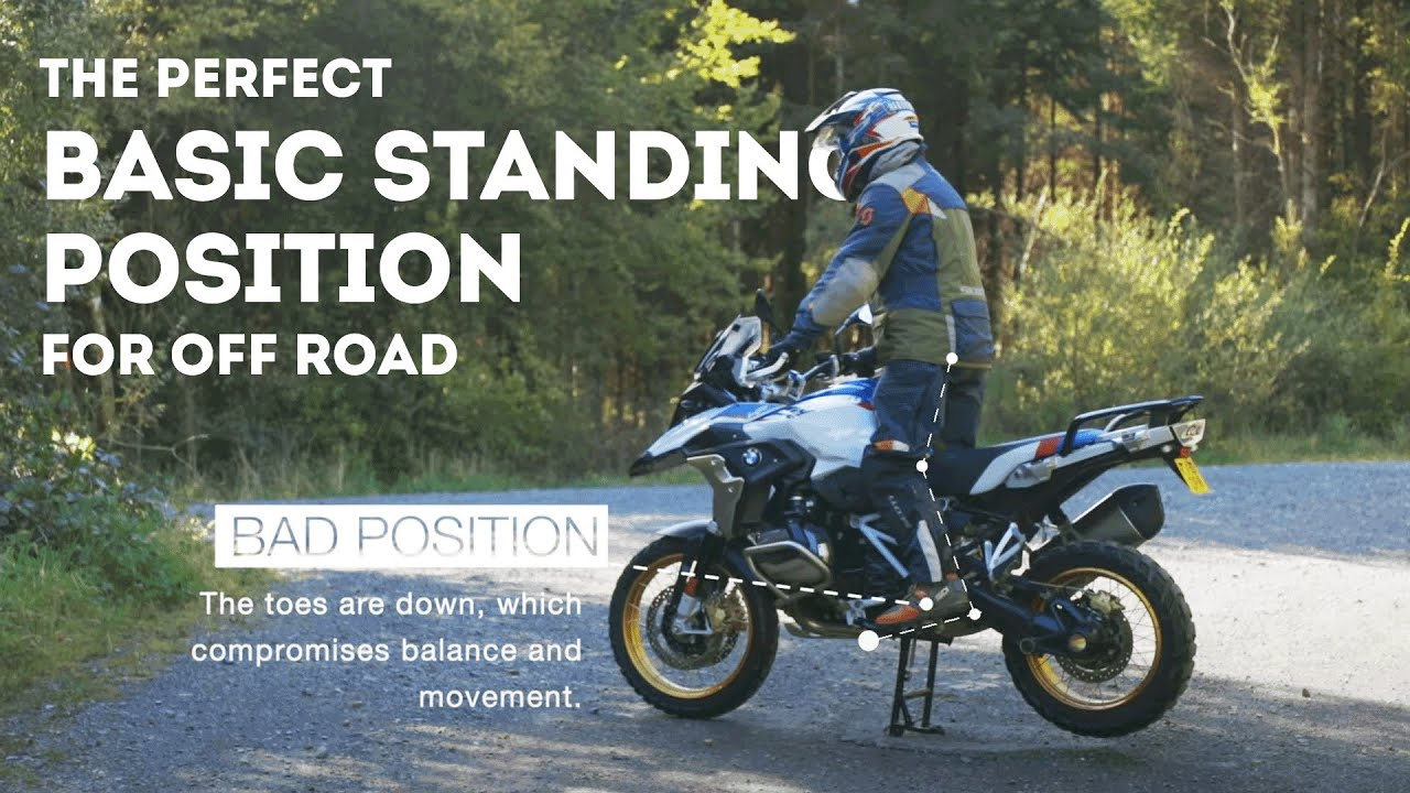 The Perfect Basic Off Road Standing Position - Mini-Tip Mondays