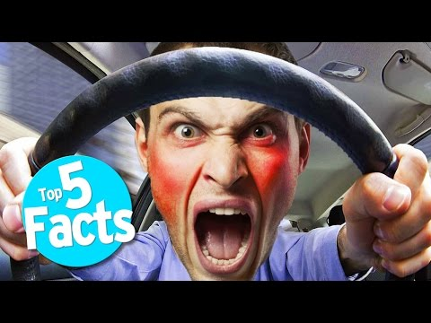 See the Top 5 Road Rage Facts!