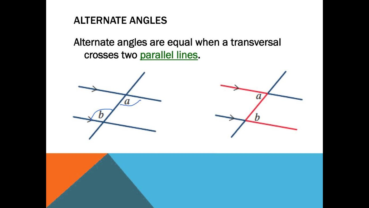 Line Art With Lines And Angles : Year angles and parallel lines youtube