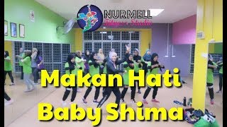 Zumba Dangdut Makan Hati by Baby Shima with Zin Nurul MP3