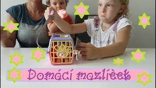 Domácí mazlíček zvířátko v přepravce, Simba | Testování hraček | Máma v Německu