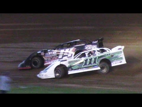World of Outlaws Late Model Heat Two | McKean County Raceway | 6-20-17