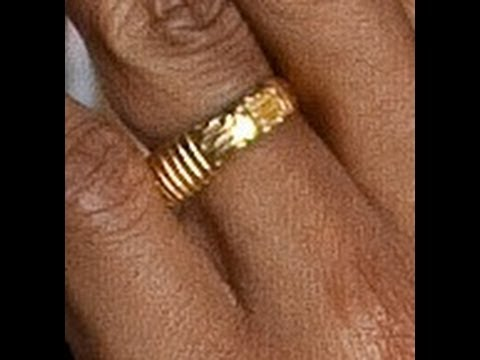obamas ring youtube - Obama Wedding Ring