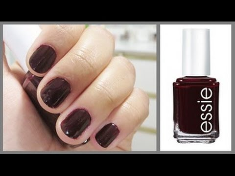 Best Drugstore Nail Polish Essie Wicked Nail Polish Review Youtube