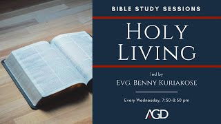 "Bible Study: ""Holy Living"" 