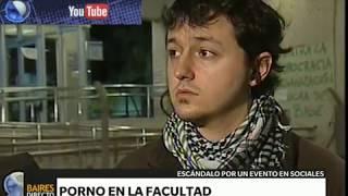 Repeat youtube video Sexo en los pasillos de la facultad - Telefe Noticias