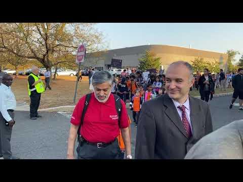 Thomas Edison EnergySmart Charter School - National Walk & Bike to School Day