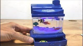 Đồ chơi hồ cá mini như thật nuôi cá thật luôn