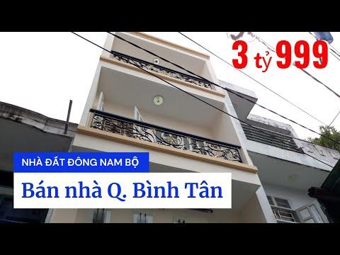 Chính chủ bán nhà quận Bình Tân dưới 4 tỷ, hẻm 441 Lê Văn Quới, Bình Trị Đông A