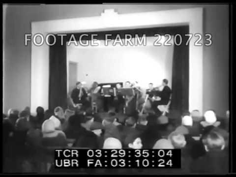 1950  Soviet Election Campaigning; Turkmenistan Anniversary; Cinema 220723-18 | Footage Farm