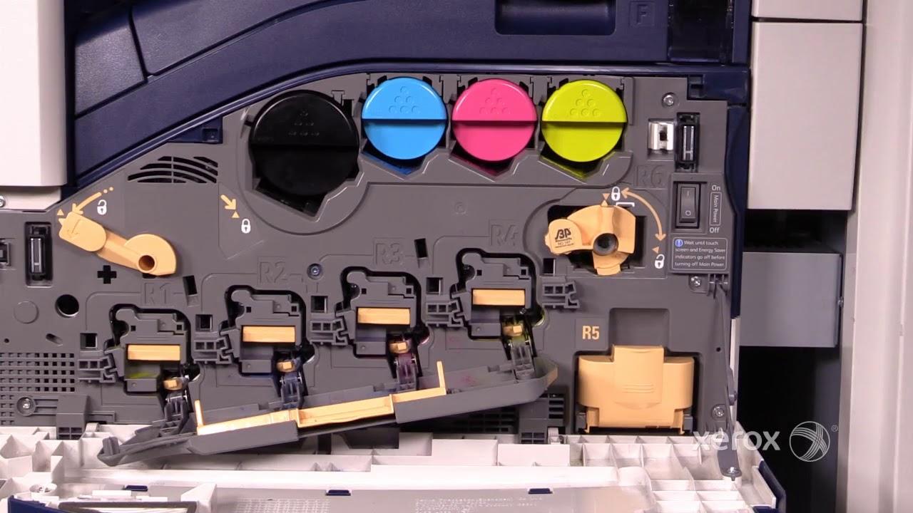 Xerox Workcentre Wc7435 7535 7830 7970i Drum Cartridges Youtube