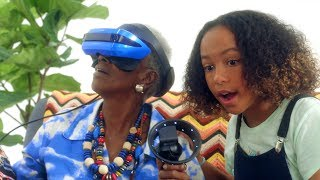 Acer | A grandmother and granddaughter explore new virtual worlds