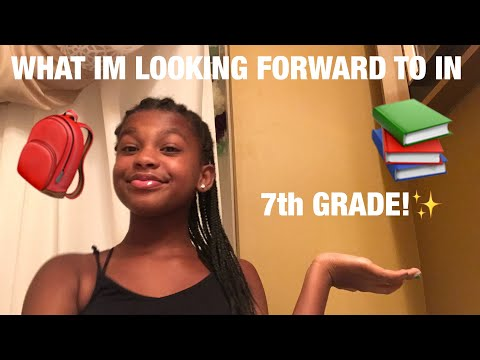 WHAT IM LOOKING FORWARD TO IN 7th GRADE!✨| JAYTV!