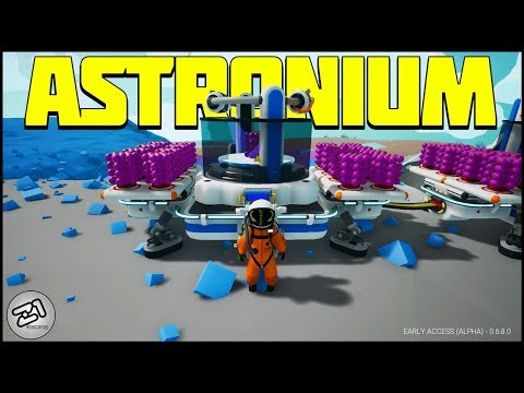 280,000 BYTES! ASTRONIUM Mining and Research! Astroneer Update Gameplay E12 | Z1 Gaming