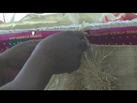 Gabon, Décoration de mariage, une spécialité de T.Otounga