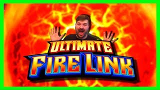 🔥🔥🔥HIGH LIMIT🔥🔥🔥$10/SPIN Ultimate Fire Link Slot Machine Bonus Winning W/ SDGuy1234