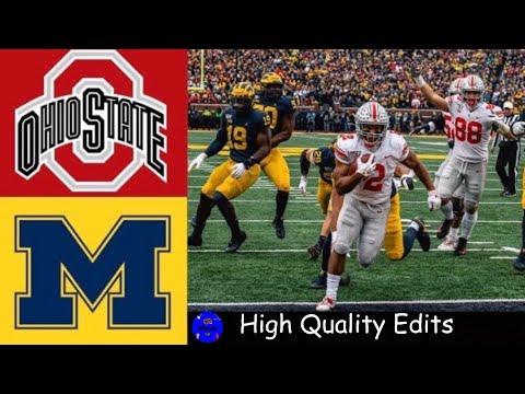 #1 Ohio State Vs #13 Michigan Highlights | NCAAF Week 14 | College Football Highlights