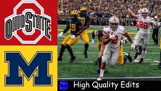 #1 Ohio State vs #13 Michigan Highlights | NCAAF Week 14 | College Football Highlights