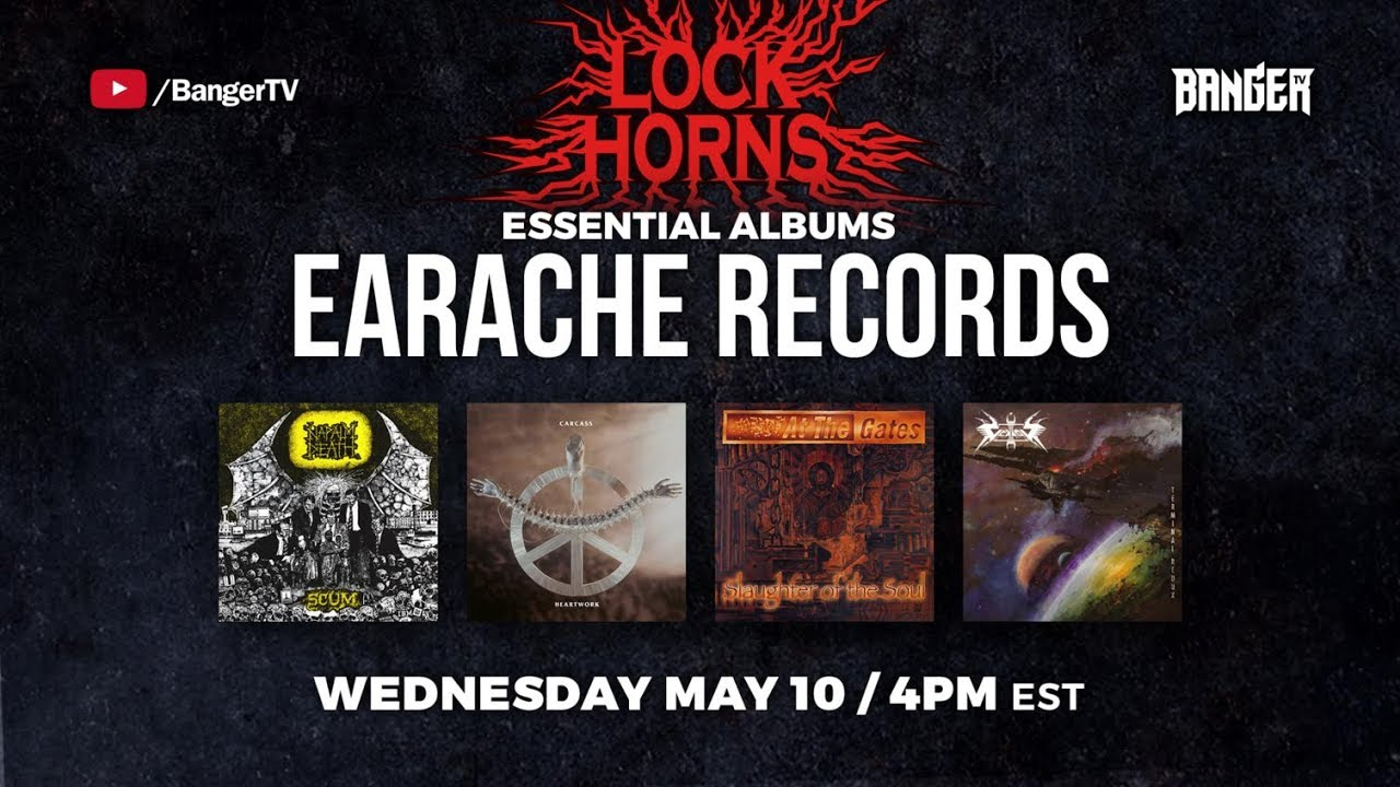 Earache Records Essential Albums debate with Daniel Dekay | LOCK HORNS episode thumbnail