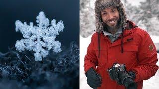 Schneeflocken fotografieren im Winter - Anleitung | Jaworskyj