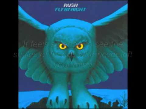 Rush- Rivendell W/ Lyrics