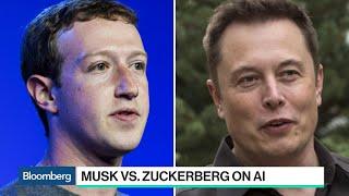 Elon Musk Trades Barbs With Mark Zuckerberg Over AI