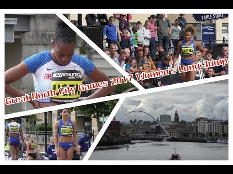 Great North City Games 2017 Women's Long Jump