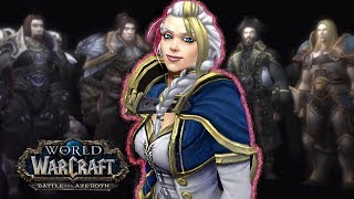 WOW BFA ALLIANCE ENDING: Jaina Forgives Herself (The Search for Jaina Proudmoore)