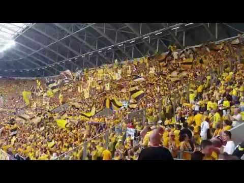 Dynamo Dresden vs  RB Leipzig DFB Pokal 2016 ULTRAS SUPPORT 4K