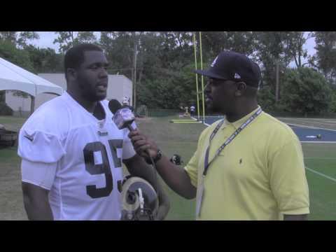 Palmer Alexander III interviews Rams DE William Hayes